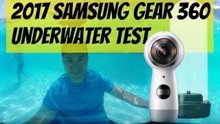 2017 Samsung Gear 360 underwater test - 4K 360 video
