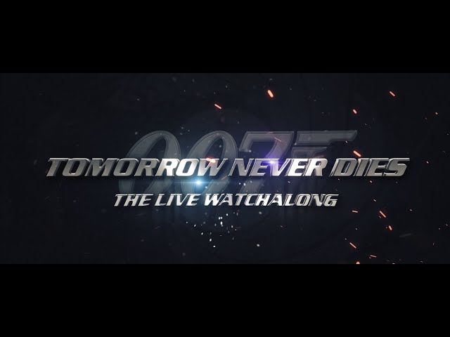 JOIN US for the TOMORROW NEVER DIES watchalong THIS THURSDAY 🍸