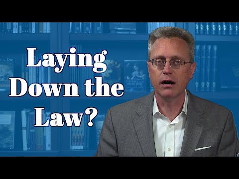 Why Jesus Had to Lay Down the Law on the Pharisees