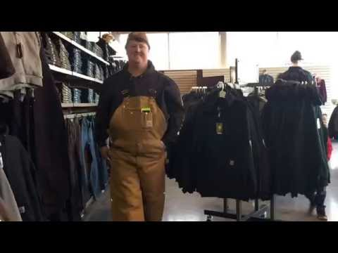 Mix 96.7 | Stopping by the CARHARTT store at Lucier Glove and Safety