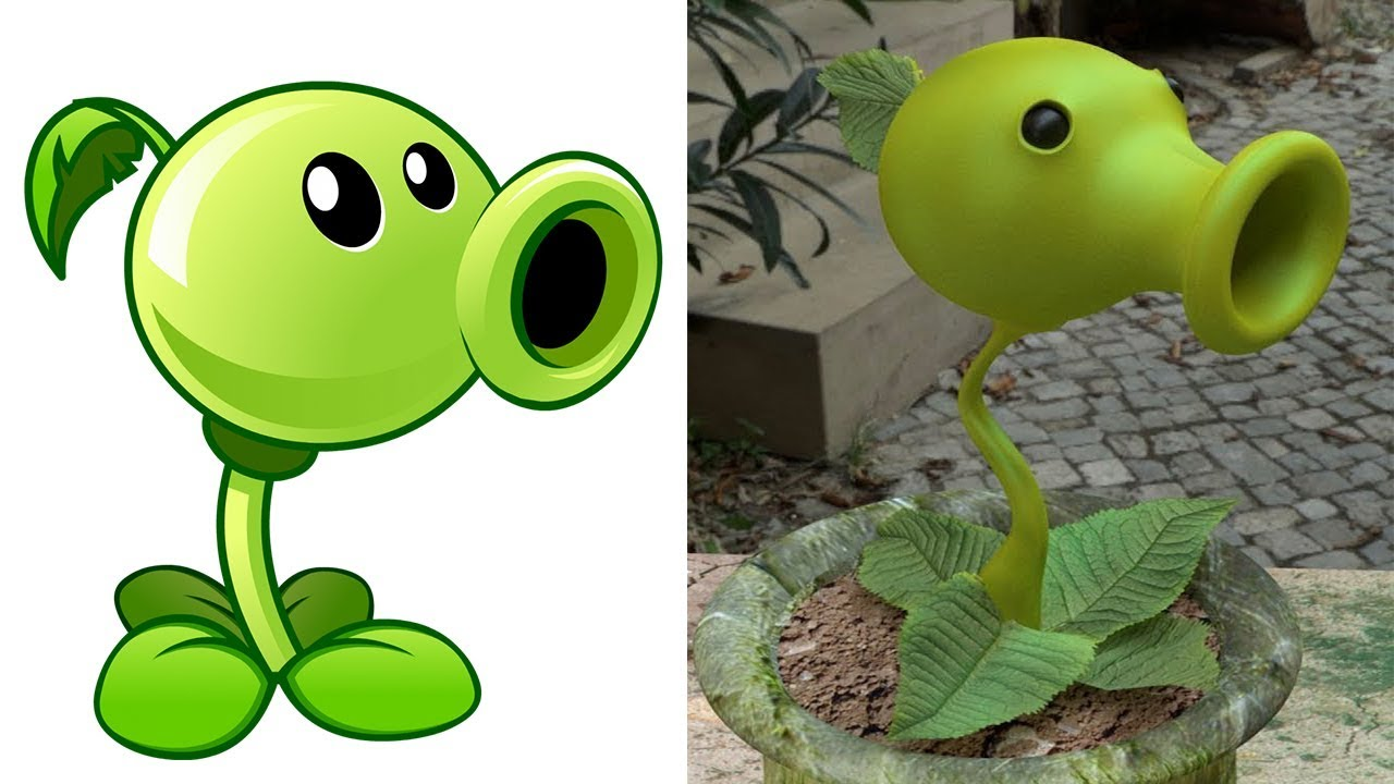 Plants Vs Zombies In Real Life Plants And Zombies