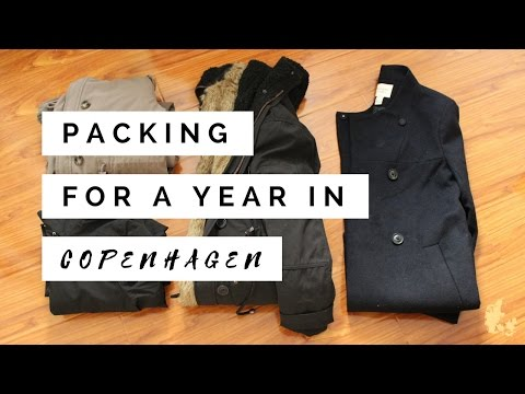Study Abroad: Packing for Copenhagen