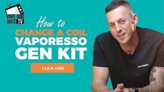 How To Change A Vapoŗesso Coil | Gen S ~ Luxe ~ GTX [5 Mins]