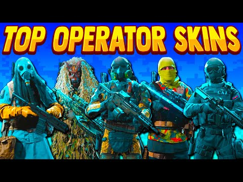 BEST OPERATOR SKINS in Modern Warfare *Rare*