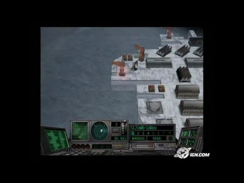 Naval Ops: Commander PlayStation 2 Gameplay - Attacking