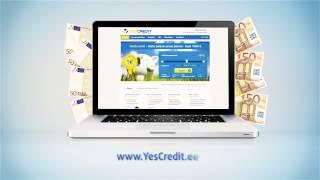 YesCredit. Esimene laen intressiga 1€.(YesCredit. Esimene laen intressiga 1€, kui laenad 50€ 30 päevaks. Uuri lähemalt YesCredit hinnakirja ja tingimusi www.yescredit.ee., 2014-04-09T11:52:59.000Z)