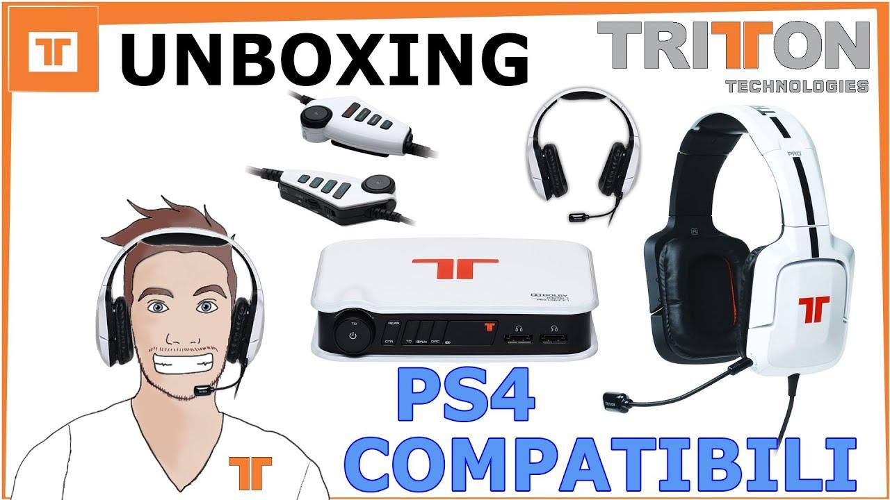 c43c690848f TRITTON PRO+ 5.1 UNBOXING - PS4 COMPATIBILI - YouTube