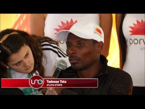 Atletas africanos dominaron otra vez la Media Maratón de Bogotá