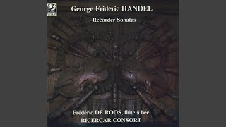 Sonata for Flute and Basso Continuo No. 7 in C Major, Op. 1, HWV 365