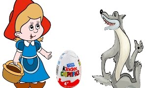 Мультик для детей. Сказка про Красную Шапочку и Серого Волка