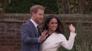 ヘンリー王子とメーガン・マークル、婚約を発表!