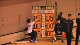 ハンドボール最高! 札幌月寒高校 vs 札幌西高校 20180421春季大会