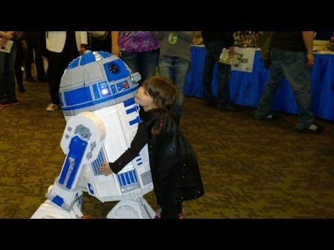 Darth Lily Loves Lego R2-D2 (Artoo)