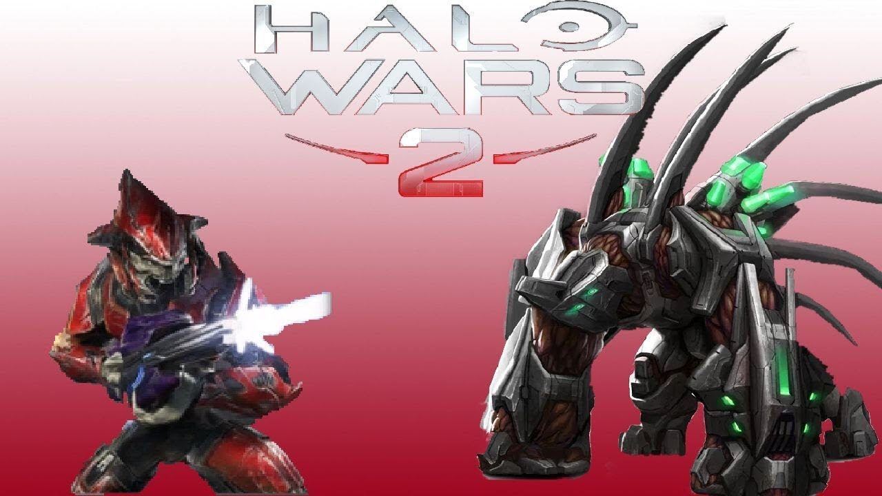 Halo Wars Elite Goliaths vs Elite Rang...
