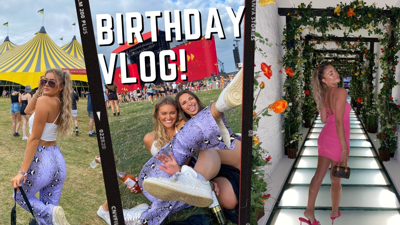 WEEKEND VLOG!!! FESTIVALS, BIRTHDAYS & SURPRISES!!! ( v tipsy...)