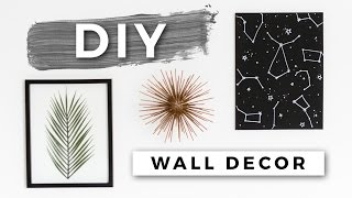 DIY Tumblr Room Decor! Minimal Wall Art! (Dollar Store DIYs) screenshot 2