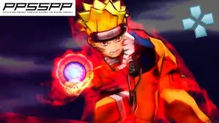 Naruto Ultimate Ninja Heroes 2: The Phantom Fortress - PSP Gameplay (PPSSPP) 1080p