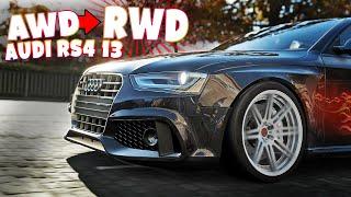 Forza Horizon 4 Audi RS4 Drift Tuning