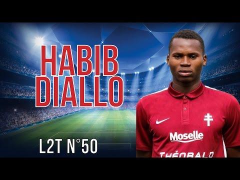 HABIB DIALLO 2015-2016 [HD] Buts, assists, dribbles, passes [L2T N°50] FC Metz