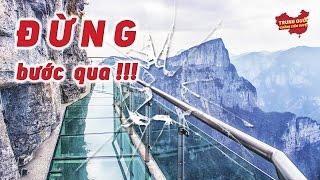 Vết Nứt Trên Cầu Thủy Tinh Ở Độ Cao 1000 Mét! | Trung Quốc Không Kiểm Duyệt