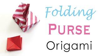 Origami Paper Folding Coin Purse Case - Origami Kawaii〔#067〕