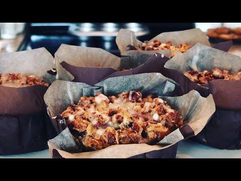 How to Make Maple Pumpkin Pecan Muffins | MANCAKE