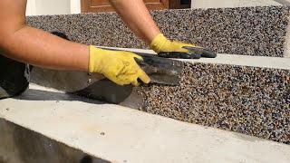 Epoxidový gel Wall systém 2v1 - kamenný koberec na zvislé plochy