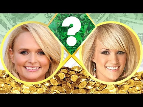 WHO'S RICHER? - Miranda Lambert or Carrie Underwood? - Net Worth Revealed! (2017)