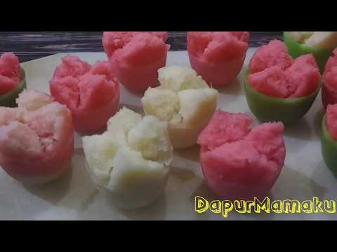 Resep Kue Mangkok (Apem) Tepung Beras Merekah