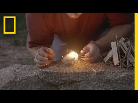 Doomsday Prepper Tips: Steelwool Fire | Doomsday Preppers