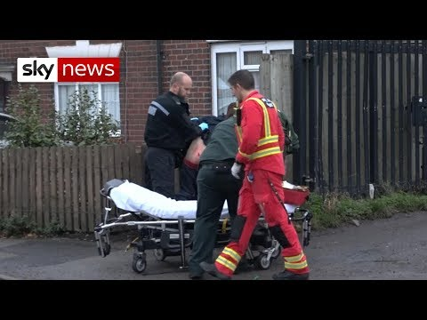 24 hours of knife crime Britain in the West Midlands