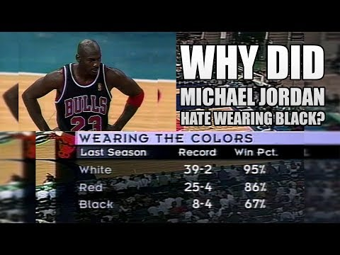 Why did Michael Jordan Hate the Black Jersey?