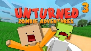 Unturned ★ DEADLY ANKLE BITING ZOMBIES ★ Zombie Adventures (3)