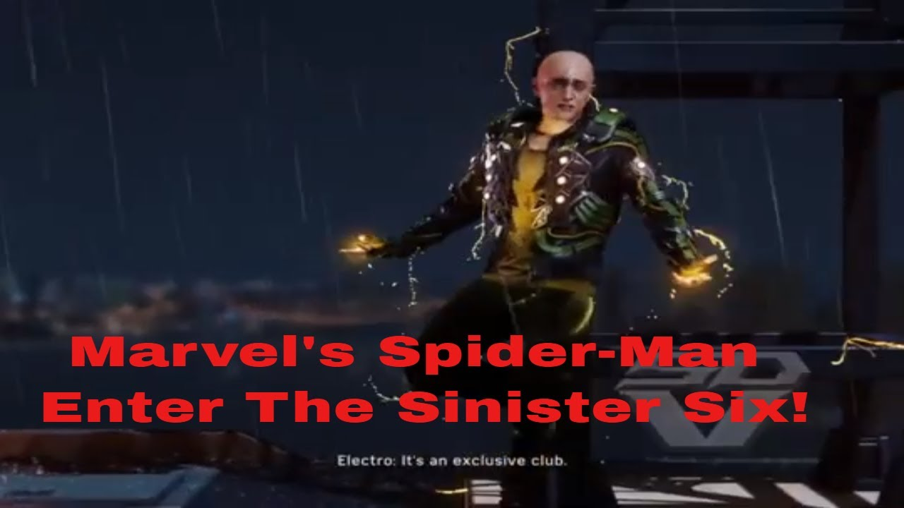 Marvel Spider Man pt 6 Enter the Sinister Six