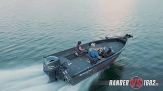 Ranger Aluminum VS1682SC On Water Footage