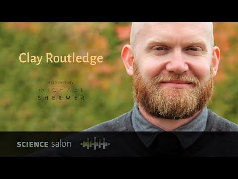 Dr. Clay Routledge — The Meaning of Life, the Universe, and Everything (SCIENE SALON # 42)