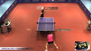 2015 australia open ws qg hirano miu jpn vs yoon sunae kor