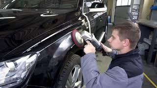 Полірування автомобіля в автосервісі Volkswagen