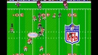 Repeat youtube video Tecmo Super Bowl - Raiders vs. Buccaneers (SNES)