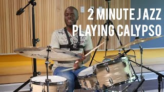 Playing Calypso in a Pickup Truck - Greg Hutchinson | 2 Minute Jazz