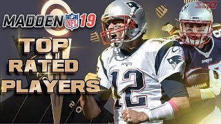 Madden NFL 19 Top Rated Players - 100% CONFIRMED RATINGS!