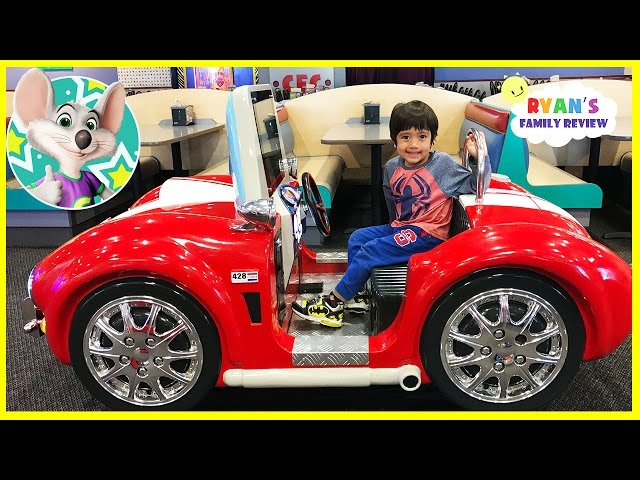 Chuck E Cheese Family Fun Indoor Kids Play Area with Ryans Family Review
