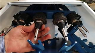 75/XRB-16/Universal semiautomatic quyish CHORVA va shisha idishlar uchun changeovers