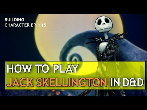 How To Play Jack Skellington In Dungeons & Dragons (Christmas Build For D&D 5e)
