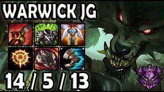 Warwick Jungle vs Evelynn [ OTP ] Lol Korea Master ✅ 10.22 ✅