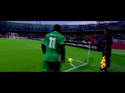 Nigeria vs Ivory Coast - All Touches (Super Eagles