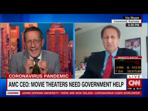 AMC CEO: Movie Theaters Need Government Help