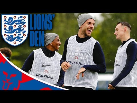England Train Ahead of World Cup Semi-final vs Croatia! | Lions' Den Ep Twenty Nine | World Cup 2018