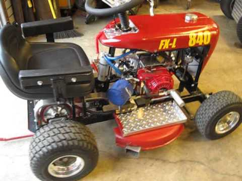 Racing Mower 58 Wheel Horse Mini Pro Fx L Quot Lite