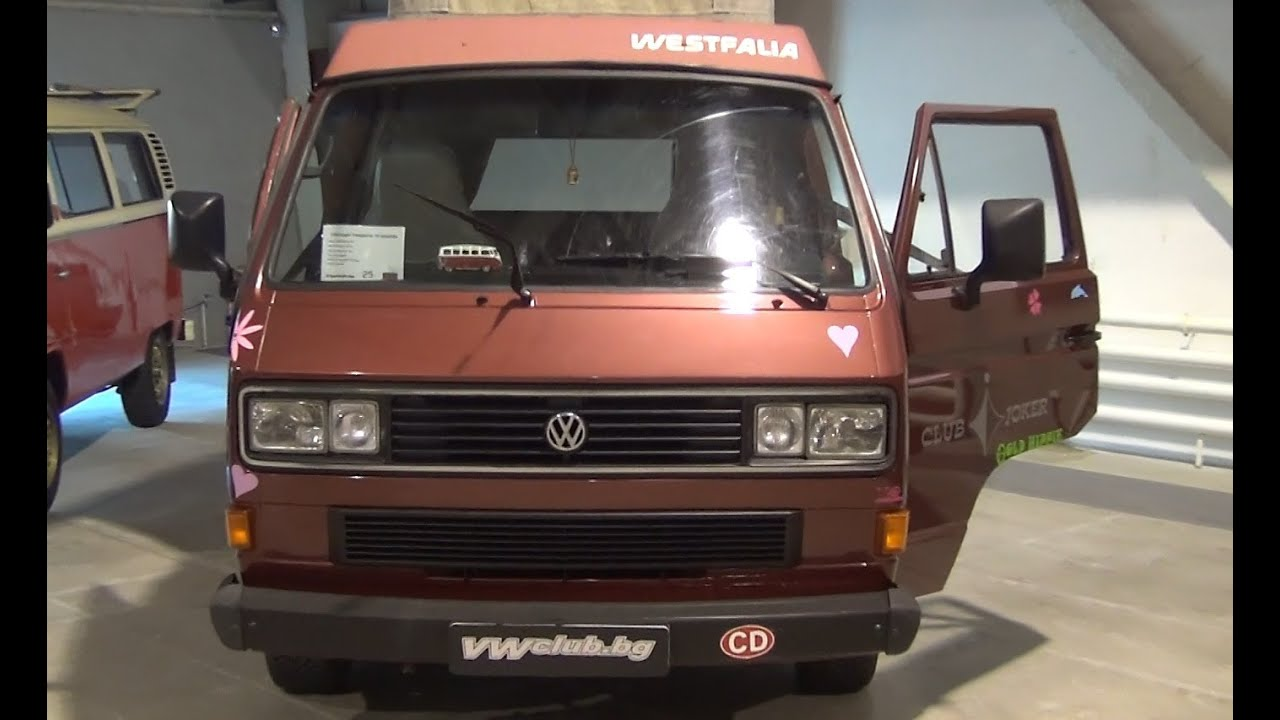 volkswagen transporter t3 westfalia 1987 exterior and interior in 3d 4k uhd youtube. Black Bedroom Furniture Sets. Home Design Ideas